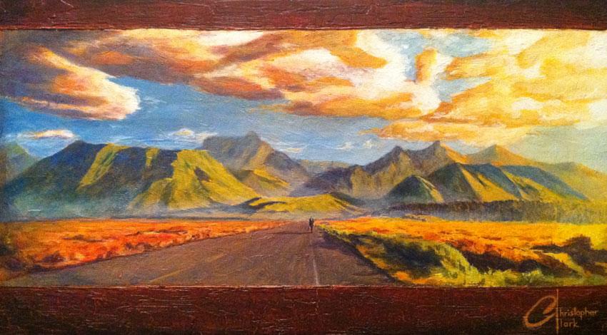 Christopher Clark : Painter of Memories